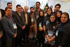 بازدید وزیر بهداشت از غرفه دانشگاه آزاد اسلامی در جشنواره آموزشی شهید مطهری