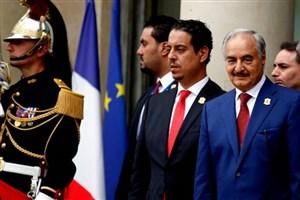 پاریس حمایت خود از خلیفه حفتر را تکذیب کرد