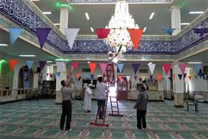 عطر خوش رمضان در مسجد پیامبر اکرم(ص) دانشگاه آزاد اسلامی واحد کرج پیچید