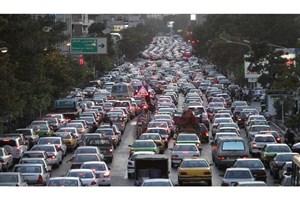 روزانه بیش از 550 هزار خودرو وارد تهران میشود