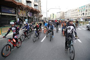 در مسیر سبز رکاب بزنید/ایجاد 2 محور دوچرخه سواری در مرکز تهران