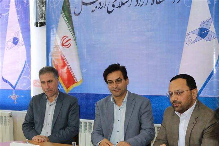 نشست مشترک رؤسا و مسئولان دانشگاه آزاد اسلامی و شرکت گاز استان اردبیل