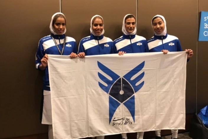 بسکتبال دختران دانشگاه آزاد