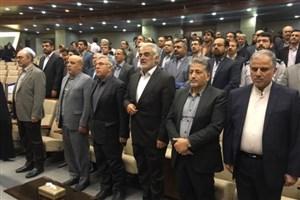 مراسم تجلیل از استادان نمونه کشوری دانشگاه آزاد اسلامی  برگزار شد