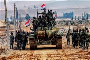 پیشروی ارتش سوریه در شمال استان حماه