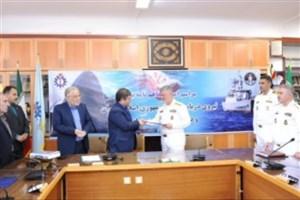 انعقاد تفاهمنامه همکاری دانشگاه علم و صنعت ایران با نیروی دریایی ارتش