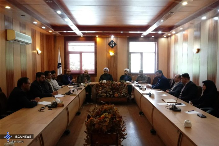 برگزاری شورای فرهنگی واحد شاهین شهر در دفتر نهاد رهبری استان