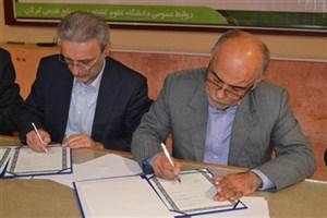 انعقاد تفاهمنامه همکاری بین دانشگاه گلستان و هیئت ویژه گزارش ملی سیلابها