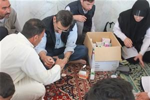 اعزام تیم 26 نفره درمانی و پزشکی به مناطق سیل زده خوزستان