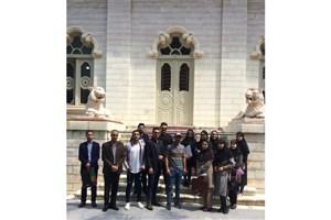 بازدیدهای علمی دانشجویان واحد رامسر از کاخ مرمر و موزه عاج رامسر