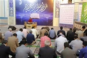 محفل انس با قرآن در واحد علوم وتحقیقات برگزار شد