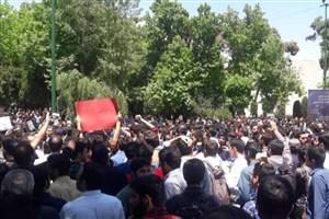 دانشگاه تهران در روز برگزاری تجمع، نظارتی بر ورود افراد نداشت