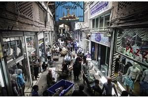هشدار؛ سقف  بازار آهنگران تهران در حال ریزش است