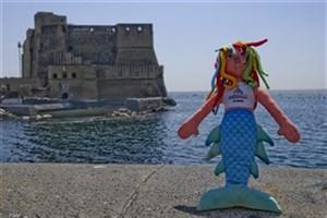 نماد عروسکی یونورسیاد 2019 ایتالیا رونمایی شد/ »پارته نوپه« میزبان دانشجویان جهان