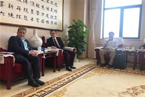 IAU President Vice-Chancellor Visits Chinese Academy of Sciences