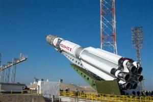 یک ربات با موشک سایوز به فضا می رود