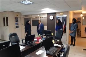 اعضای تیم بسکتبال دانشگاه آزاد اسلامی  از ایسکانیوز بازدید کردند