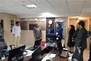 بازدید مدیرکل تربیت بدنی دانشگاه آزاد اسلامی از ایسکانیوز