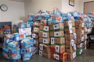 ارسال ۶۰ بسته حمایتی از سوی کارکنان هیئت امنای دانشگاه آزاد به پلدختر