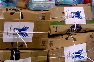 ارسال بستههای حمایتی از سوی کارکنان هیأت امنای دانشگاه آزاد اسلامی به پلدختر