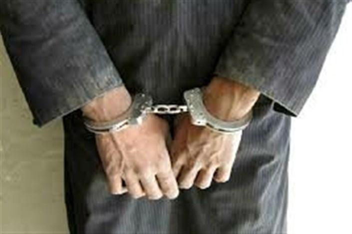دستگیری  عامل جنایت مسلحانه  درمیرجاوه