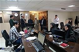 بازدید دکتر هاشمی مسئول بسیج اساتید دانشگاه آزاد از ایسکانیوز