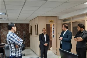 مدیرکل کارآفرینی و تجاریسازی دانشگاه آزاد اسلامی از ایسکانیوز بازدید کرد
