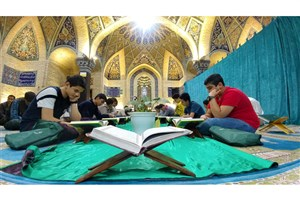 برپایی کرسی های تلاوت قرآن درمساجد محلات مرکزی تهران