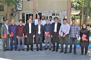 از کارکنان روابط عمومی دانشگاه آزاد اسلامی واحد کرج تقدیر شد