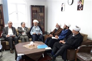 نشست روحانیون دفتر هیات موسس و امناء دانشگاه آزاد اسلامی برگزار شد