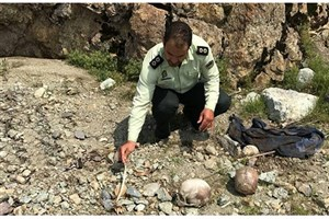 کشف دو جمجمه انسان در ارتفاعات دربند