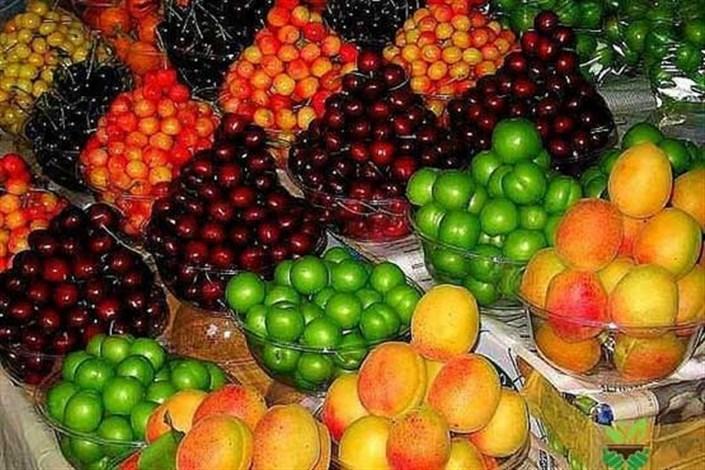 محصولات میادین میوه و تره بار