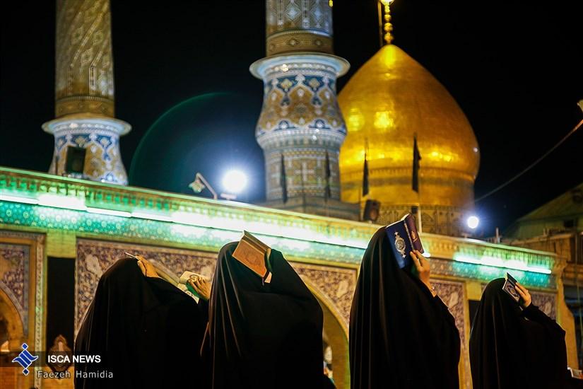 مراسم احیاء شب نوزدهم ماه مبارک رمضان در حرم حضرت عبد العظیم حسنی (ع)