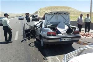 یک کشته و 2 مجروح در برخورد پیکان و پژو در همدان