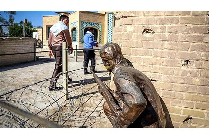 بناهای باقیمانده از جنگ در خرمشهر