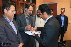 معاون پژوهش و فناوری دانشگاه آزاد اسلامی همدان معرفی شد