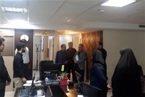 مدیرکل مراکز تحقیقاتی و ارتباط با صنعت دانشگاه آزاد اسلامی از ایسکانیوز بازدید کرد