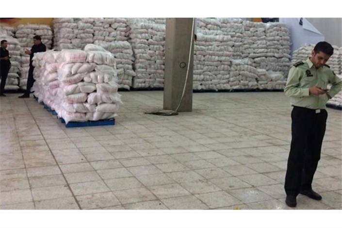 کشف 130 تن برنج تقلبی