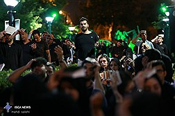 مراسم احیاء شب قدربیست یکم ماه  رمضان درمیدان پانزده خردادبازار تهران