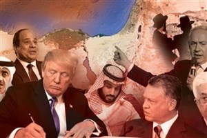 معامله  قرن خیانت در حق مردم فلسطین است