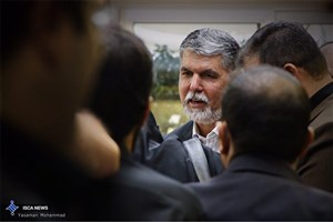 حضور وزیر فرهنگ و ارشاد در راهپیمایی روز قدس