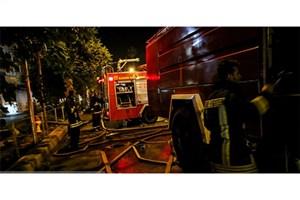 سینما بهمن شیراز در آتش سوخت+عکس