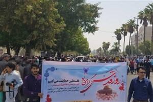 باقری: روز قدس روز تجلی ، آرمان های انقلاب است