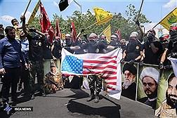 راهپیمایی روز جهانی قدس در تهران 1