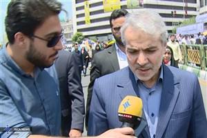 نوبخت: حضور پرشور مردم در روز قدس نشان از رویشهای انقلاب اسلامی دارد
