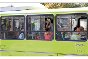 الزام رانندگان اتوبوس به روشن کردن کولر