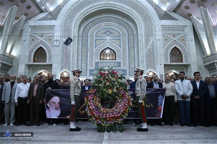 تجدید بیعت دانشگاهیان با آرمان های امام خمینی (ره)
