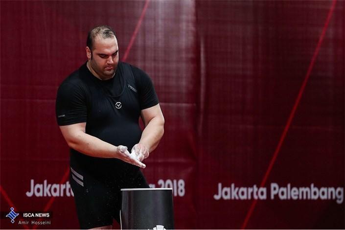 بهداد سلیمی آخرین مدال طلای وزنه برداری را گرفت و خداحافظی کرد