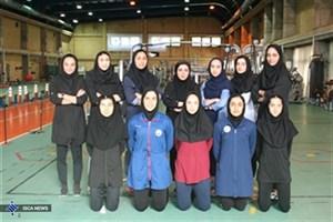 تکواندو کاران دختر برای مسابقات یونیورسیاد تست دادند