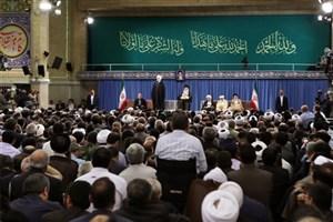 روحانی : دشمن هیچ گاه نمیتواند ملت ایران را به زانو در آورد